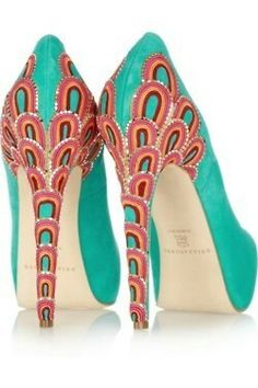 <3 these statement shoes