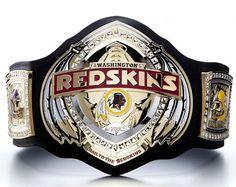 Redskins WWE-style belt #httr