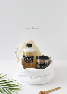 diy mini spa kit | a