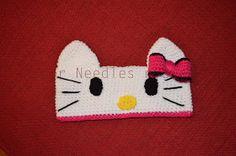 Free crochet pattern - Hello Kitty Headband