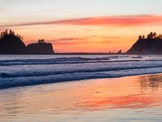 12 of the Best National Park Beaches >> Olympic National Park, Washington.