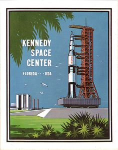 kennedy space center - 1970s