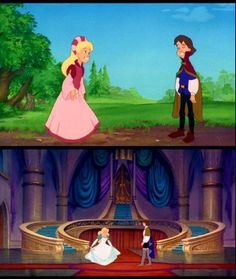 I remember I would ALWAYS rent The Swan Princess from Blockbuster when I was a kid!!