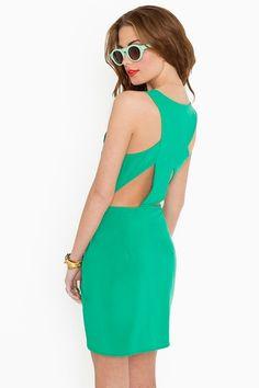 mint dress  nastygal.com