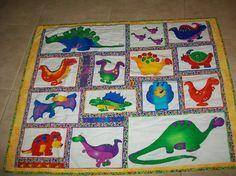 Dinosaur quilt by Sandi W   Quilting Ideas
