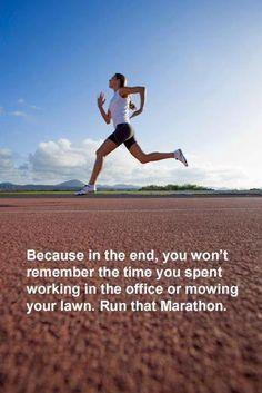 Run that Marathon