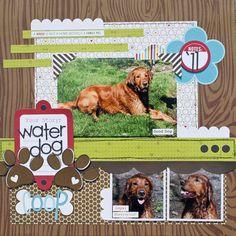 Water Dog - Scrapbook.com