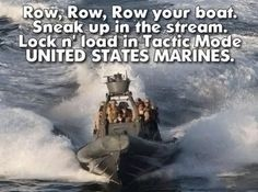 Row your boat…