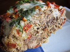 Crockpot Italian Meatloaf:  This was awesome!  Not having to wait an hour for meatloaf to be ready, it was ready when I got home!  Used Italian Sausage instead of ground turkey and made my own sauce as the topping.