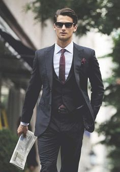 nice three piece suit