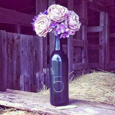 DIY - Decoração com garrafas de vinho!