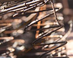 Rusty Bed Springs Photograph / steampunk by PhotographyBySandra, $9.00