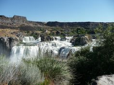 Shoshone Falls Waterfall Wall Art by SoulFILLedExpression on Etsy, $5.00