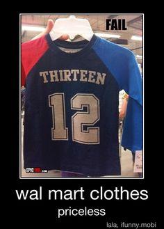 Oh Walmart..