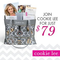 The most easy and affordable way to join Cookie Lee, ever! www.cookielee.biz/suheirpfeil