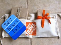Father's Day Gift Wrap Idea...