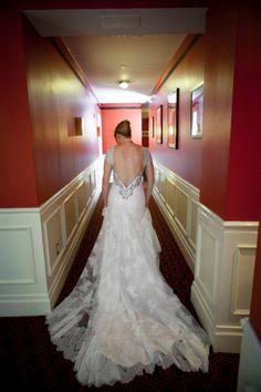 hotel hallway, hallway shot, gown, thompson hotel, hall hotel