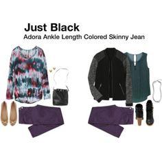 Just Black Adora Ankle Length Skinny Jeans