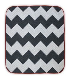 Chevron baby quilt