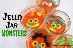 Jello Jar Monsters