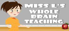 Miss L's Whole Brain Teaching