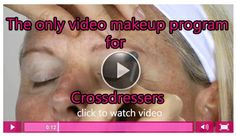a #crossdressers dream come true! #makeup #crossdressing http://crossdressersociety.com/crossdresser-makeup-video.html
