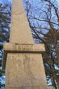 Buck's Haunted Gravestone, Bucksport, Maine
