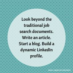 Do you have a blog? #CareerChangers