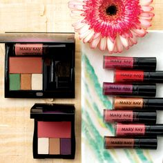 With a Marvelous Minerals Party, guests can experience color that's also good for their skin. The mineral-based Mary Kay® products create gorgeous eyes, blushing cheeks, and glowing skin.