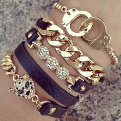 fashion, arm candi, halloween costumes, christmas, cuffs, cuff bracelets, panther, blues, black