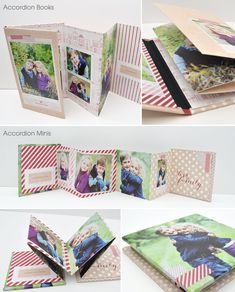 Holiday gift ideas: Accordion Books and Accordion Minis