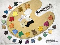 Concrete Stain Color Chart provided by Kemiko Decorative & Industrial Floor Finishes featuring Rembrandt Polymer Stains.