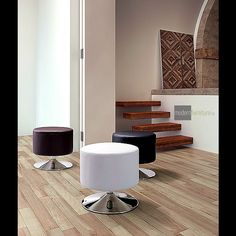 Bold and simple complete your space with the Plump Ottoman.