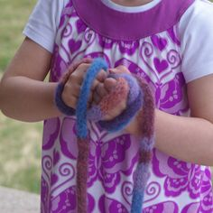 Tutorial~ Felted Skipping Rope