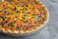 Chipotle Quiche