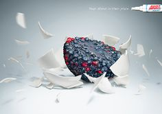 Keep Stains in their Place by Patrick Ackmann, via Behance