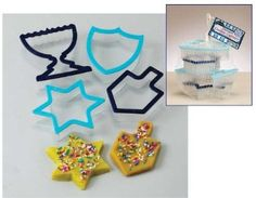 Large Hanukkah Cookie Cutters