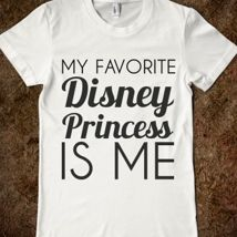 Favorite Princess from Glamfoxx   Perfect for the three girls for Disneyland