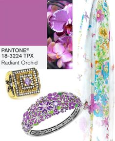 {Color Trending} Pantone's Radiant Orchid