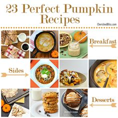 23 Perfect Pumpkin Recipes