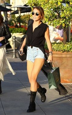 Miley cyrus high waisted shorts