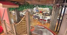 I want a tree house in my office!