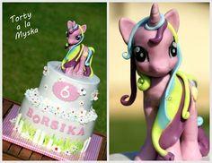 Cute My Little Pony Birthday Cake