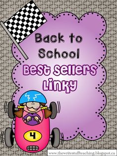 Get the BEST resources for Back to School at this Best Seller Linky! Just in time for the big TpT Back to School Sale!