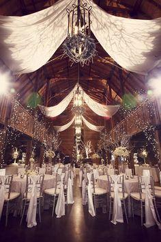 Increible decoracion de salon de fiestas para casamientos