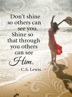 In the same way, let your light shine before others, so that they may see your good works and give glory to your Father who is in heaven. - Matt. 5:16 ~Life with Jesus is Better ♥