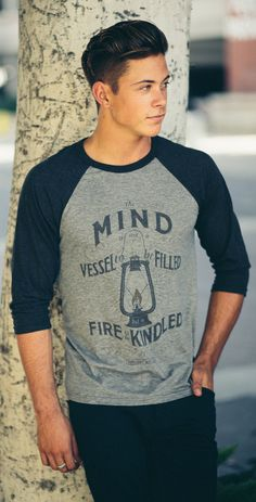 """""""The mind is not a vessel to be filled but a fire to be kindled."""" -  #Sevenly #Autism #DifferentNotLess"""