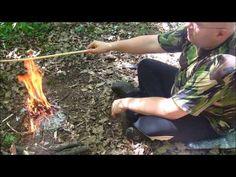 bushcraft skills: how to make an arrow suvival skill videos