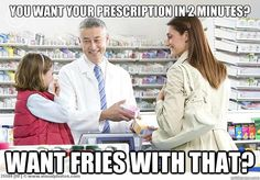 every day life in the pharmacy...