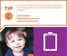 """Photography tips for capturing kids 